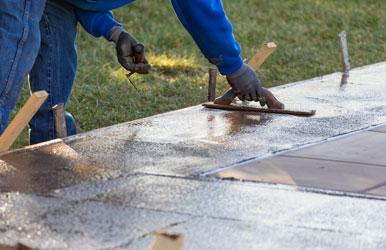 Stamped Concrete Overlay Kansas City